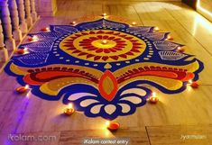 Here are some rangoli designs for diwali which we are going to discuss and these Special rangoli for diwali are very easy rangoli designs for diwali, which makes your diwali special Simple Rangoli Designs Images, Rangoli Designs Latest, Rangoli Designs Flower, Rangoli Border Designs, Colorful Rangoli Designs, Rangoli Ideas, Rangoli Designs Diwali, Flower Rangoli, Beautiful Rangoli Designs