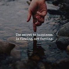 Secret of happiness..