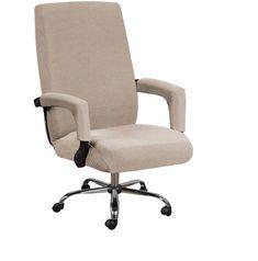 Kancelárske poťahy Spandex poťahy na jednofarebné protišpinavé poťahy na stoličky počítačov Odnímateľné návleky s poťahmi na opierky rúk | - AliExpress Desk Chair Covers, Cheap Chair Covers, Chaise Velour, Swivel Chair, Armchair, Gamer Chair, Spandex Chair Covers, Cheap Chairs, Chaise Bar