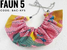 Batik kalung necklace handmade