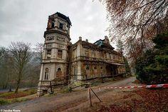 Abandoned castle in Czech Republic
