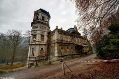 Abandoned castle in Czech Republic urbex decay.