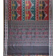 Ikat Sarees Online Shopping   Tajmahal Design Sari   Handloom Sari - Odisha Saree Store