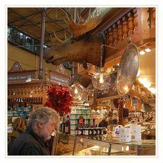 Östermalmshallen- Indoor market in Stockholm. So much to choose from...