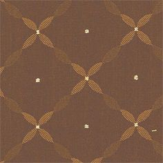 Trafalgar #fabric in #brown from the Serendipity collection. #Thibaut