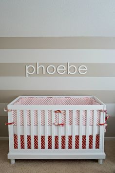 Poppy Red, Coral and Pink Nursery | Project Nursery