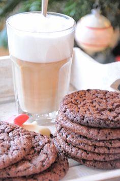 Winterse chocoladekoekjes met Nutella en zeezout... Buonissimo!