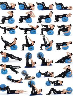 Every type of stability ball workout