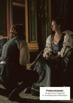 Voyager Sassenach : Outlander definitions.- Forgiveness. (x)