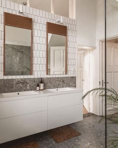 Double Vanity, Bathroom, Instagram, Washroom, Full Bath, Bath, Bathrooms, Double Sink Vanity
