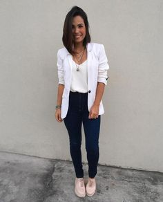 Cute fashion outfits ideas for 2020 womens fashion trendy summer spring crop tops and womens skirt ou Cute fashion outfits ideas for 2019 womens fashion trendy summer spring crop tops and womens skirt outfits Blazer Outfits Casual, Business Casual Outfits, Professional Outfits, Classy Outfits, Chic Outfits, Trendy Outfits, Fashion Outfits, Womens Fashion, Skirt Outfits