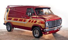 1977 Chevy Van   Chevrolet Van G20 Caravan '77