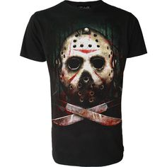 7a7bc8dbd652 Darkside Clothing - Jason T-Shirt Mens Gothic Jackets