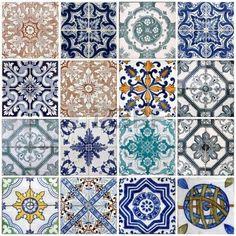 Szczeg y tradycyjnych kafelk w azulejos z elewacji starego domu w Lizbona Portugalia Zdjęcie Seryjne