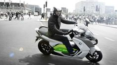 BMWs new scoot - A low center of gravity and the instant high-torque nature of the electric motor promises ...