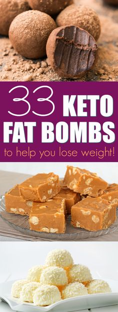 I've compiled 33 droolworthy keto fat bombs recipes for you to try.