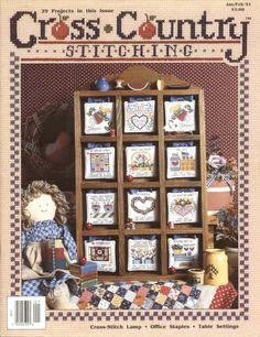 Gallery.ru / Фото #1 - Cross Country Stitching 1991-01 Jan - tr30935