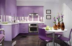 purple kitchen - Google Search