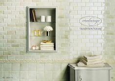 Grazia Melange Wall Tile -  - bathroom tile - san francisco - by CheaperFloors
