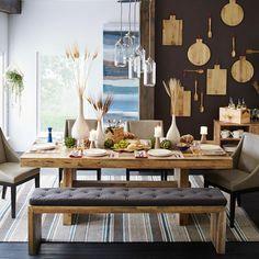 Esszimmer Eckbank   Massivholz   Viele Stühle