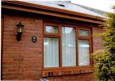 A light oak window fitted by image windows www.imagewindows.com