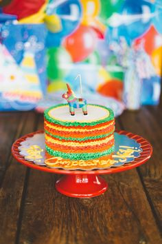 mexican theme first birthday cake | Wedding & Party Ideas | 100 Layer Cake