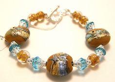handmade Lampwork Bracelet LB024