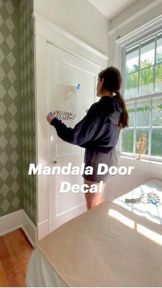 Diy Home Decor Easy, Diy Home Crafts, Diy Wall Decor, Bedroom Decor, Diy Projects For Bedroom, Home Projects, Cute Teen Rooms, Interior Design Layout, Patio Makeover