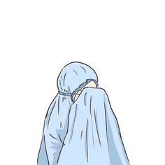 Cute Pastel Wallpaper, Wallpaper Iphone Cute, Cartoon Wallpaper, Girl Cartoon, Cartoon Art, Aesthetic Art, Aesthetic Anime, Hijab Drawing, Islamic Cartoon