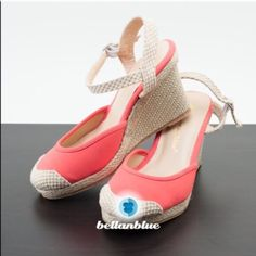 The Stunning Micah Wedges - Coral
