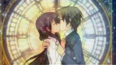 Hikari and Kei. When they kissed I was like: FINALLY!! THEY DID IT XD!