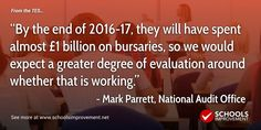 30.9.16 - Primary trainees will need a first-class degree to qualify for bursaries - Schools Improvement Net
