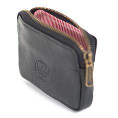 Oxford Pebbled Black Leather by Herschel Supply Co. Black Pebbles 1933de40fc318