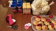 Simpel ideas for a school treat or kids goodiebag