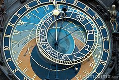 A detail of the astronomical clock in Prague, Czech republic in the Old Town Square.The Prague astronomical clock (in Old Town Square) was installed in 1410 by clock-makers Mikuláš of Kadaň and Jan Šindel, and is the oldest functioning Astronomical clock in the world.