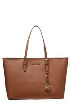 MICHAEL Michael Kors JET SET TRAVEL - Shopping bags - brown - Zalando.dk
