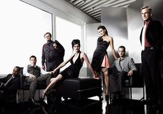 NCIS - starring Mark Harmon, Michael Weatherly, Pauley Perrette, Cote de Pablo & Sean Murray