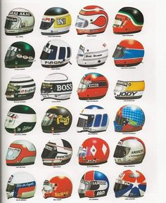 Racing Helmets, The Golden Years, Those Were The Days, Fat Man, Pulp Fiction, Soccer Ball, Bicycle Helmet, Legends, Magazine