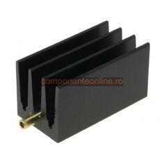 Radiator pentru capsule TO220, 30x16x16mm, Fischer Elektronik - 006321