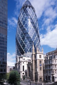 Swiss Re Tower, London