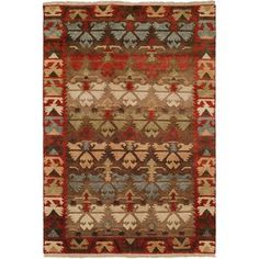 Loon Peak Sonia Hand-Knotted Wool Brown Area Rug Rug Size: Runner x Purple Area Rugs, Orange Area Rug, Navy Blue Area Rug, White Area Rug, Beige Area Rugs, Rug Size, Hand Weaving, Brown, Rug Ideas