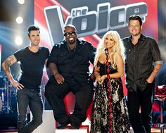 "The Voice.  (U.S. Version.)  Debuted 2011.  Wiki entry about the show in general: https://en.m.wikipedia.org/wiki/The_Voice_(U.S._TV_series).  Each season has its own entry, e.g. http://en.m.wikipedia.org/wiki/The_Voice_(U.S._season_10)   I love the cuteness of ""Shevine"" on YouTube - Blake Shelton and Adam Levine, and I miss Shakira!  (I skipped S9E11 thru the end of S10 temporarily.)  I have watched S11E25."