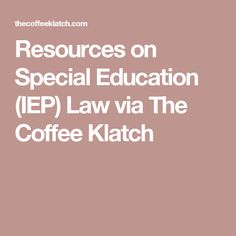 Resources on Special