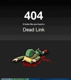 Html joke 404 Dead Link