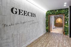 「ギークス株式会社」のオフィスデザイン - WALL(ウォール)