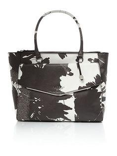 Avery multi-coloured tote bag