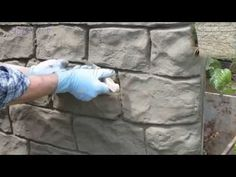 QUICK EASY CHEAP Make your own Fake ROCKS ! - YouTube