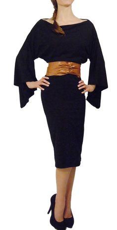 $242 Aki Kimono Dress via boutiika.com