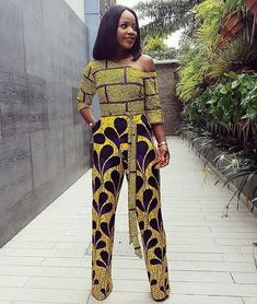 Latest Ankara Jumpsuit To Try in October - Fashion Ruk African Attire, African Wear, African Dress, African Outfits, African Clothes, African Style, African Print Jumpsuit, Ankara Jumpsuit, Latest Ankara Dresses