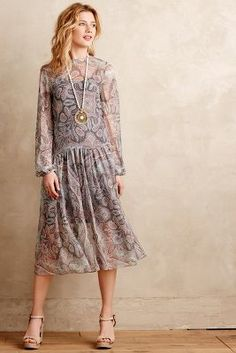 Zimmermann Loiza Silk Dress #anthrofave